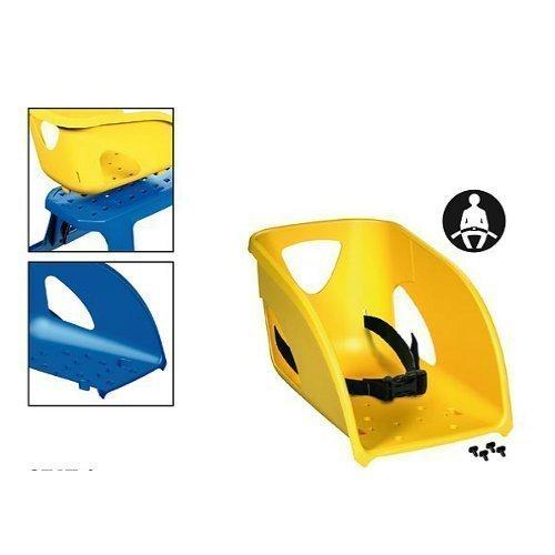 Kindersitz für Schlitten gelb
