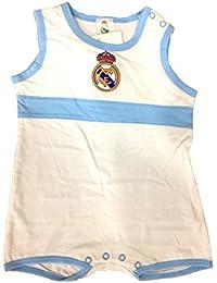 Real Madrid Pelele Manga Corta 1-24 Meses