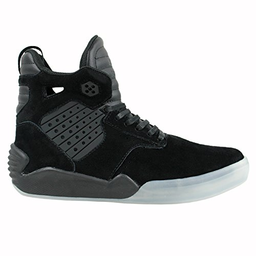 Supra SKYTOP IV Herren Hohe Sneakers BLACK-TRANSLUCENT
