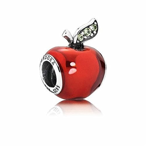 PANDORA 791572en73 Disney Snow White 's Apple Charme (Vergiftete Apfel Der)
