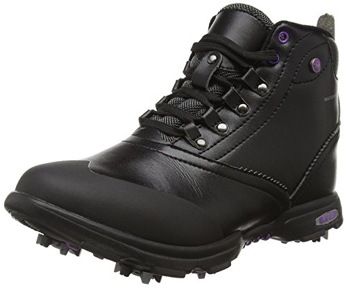 Hi-Tec Damen Driclassic Mid Golf, Black (Black/Purple 021), 40 EU (7 UK)