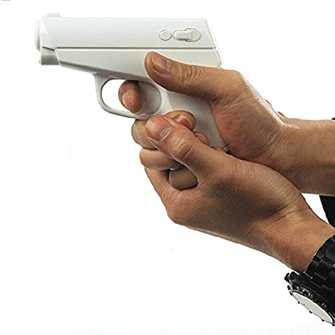 OAGHL Creativo pistola stile tabella proiezione sveglia proiezione