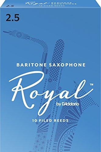 Royal Blätter für Baritonsaxophon Stärke 2.5 (10 Stück)