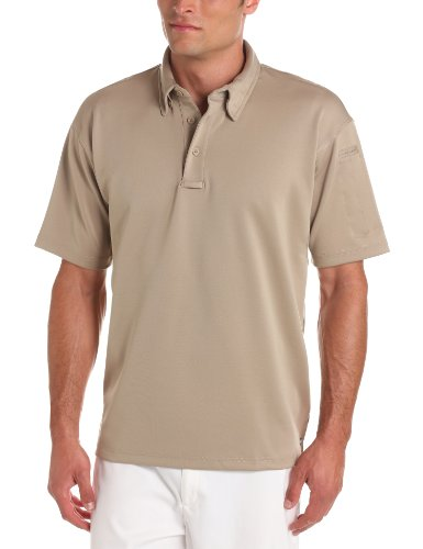 Propper Herren I.C.E. Short Sleeve Performance Polo Shirt, Herren, Silver Tan, 3X-Large Regular -