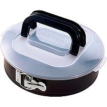 KAISER Springform Ø 26 cm Bake & Take sehr gute Antihaftbeschichtung sichere Premium-Transporthaube mit klappbarem Griff praktisches Frischalten und Aufbewahren