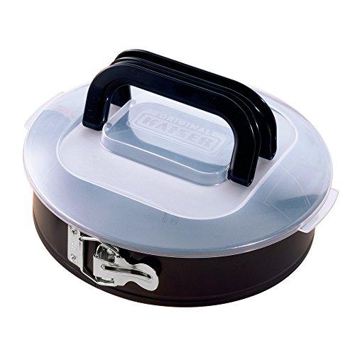 Image of KAISER Springform Ø 26 cm Bake & Take sehr gute Antihaftbeschichtung sichere Premium-Transporthaube mit klappbarem Griff praktisches Frischalten und Aufbewahren