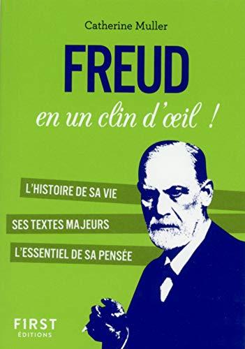 Petit Livre - Freud en un clin d'oeil (Le petit livre)