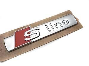 S-Line - Logo autocollants, Pièces d'origine Audi A3 A4 A6 TT