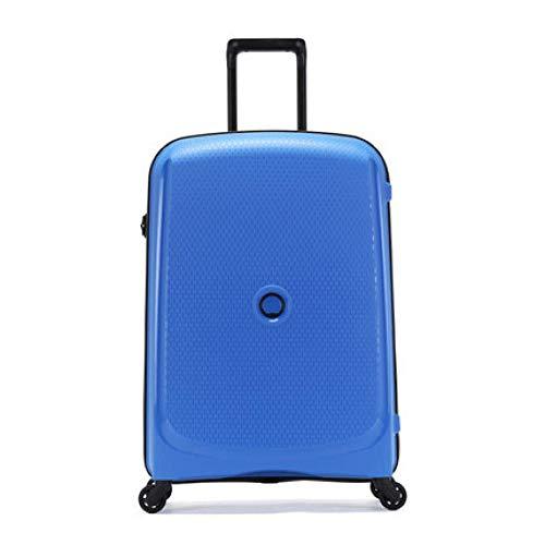 Universalradkoffer-Laufkatzenkasten-Modeeinstiegskoffer, hellblau 20 Zoll