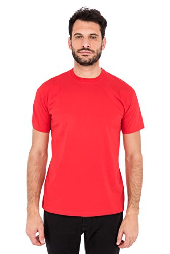Fruit of the Loom Herren T-Shirt Valueweight T Rot (Red 40)