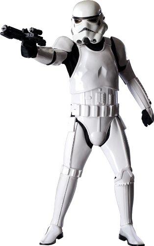 Offizielles Stormtrooper Deluxe-Kostüm für Erwachsene Star Wars - Einheitsgröße M/L