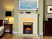 Cayton Electric Fireplace Suite