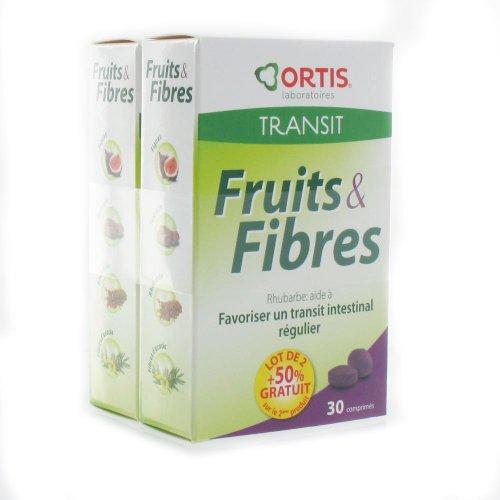 Ortis Fruits & Fibres 2x 30 Comprimes