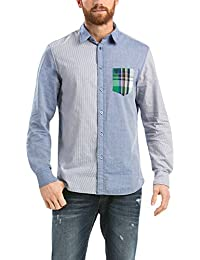 Desigual Carlos - Chemise casual - Taille normale - Manches longues - Homme