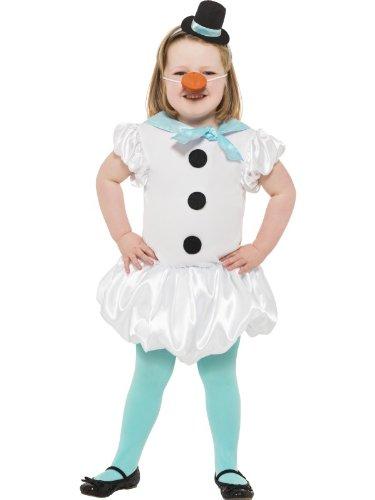 Snowgirl Kostüm - Puffball Snowgirl Costume, Größe:M