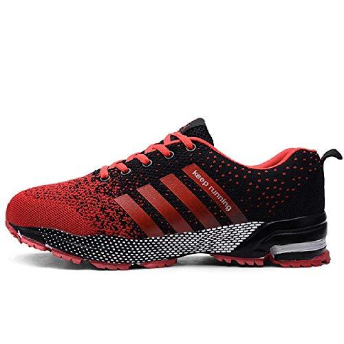 Scarpe da Uomo alla Moda Scarpe da Corsa Traspiranti Portatili Sneakers di Grandi Dimensioni Scarpe da Jogging comode da Passeggio comode