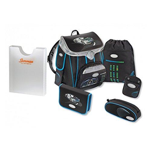 Sammies Premium - Schulranzen Set 5 tlg. + kostenlose Heftebox - Top Speed
