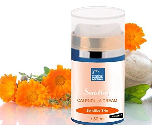 Ringelblumen-Creme Moisturizer mit Ginseng und Vitamin C & E Creme 50ml - Calendula Gesichtscreme