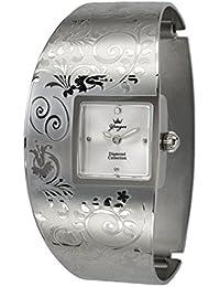 Yonger pour elle DMC 1474/06 D - Reloj , correa de acero inoxidable color plateado
