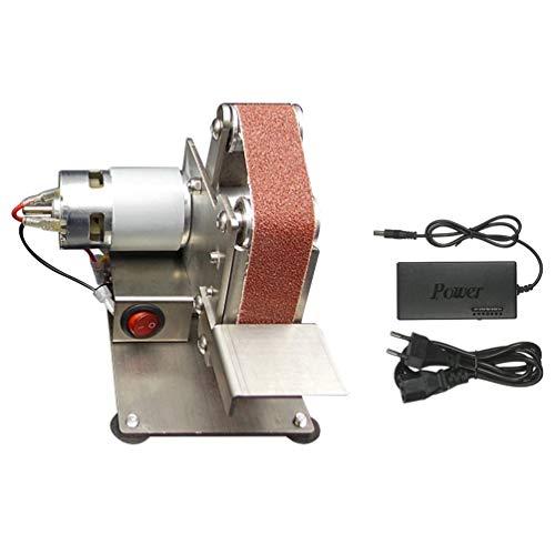 Chouli affilacoltelli per smerigliatrice elettrica per smerigliatrice a nastro elettrico mini grinder argento ue/usa