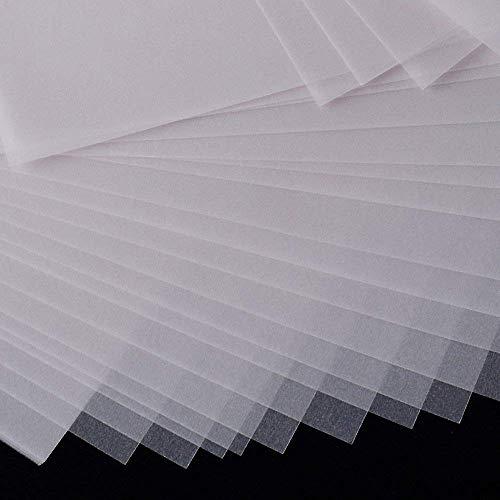 150pz A4 Carta da Lucido Trasparente Stampanti Fogli Stampa per Disegnare Stampare Laser Ricalco Disegno 63 g/m²