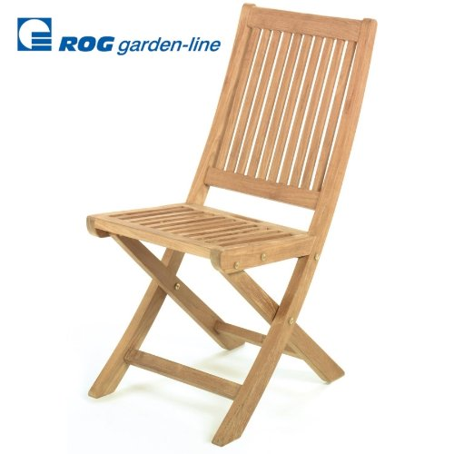 ROG garden-line TL8003: Teak HOLZSTUHL Gin Tonic KLAPPBAR
