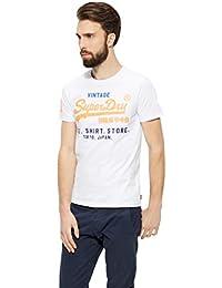 Superdry Herren T-Shirt Shirt Shop Tri Tee