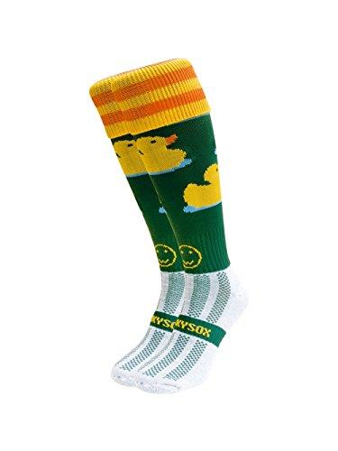 WackySox Mighty Ducks Sport-Socken Adult Shoe Size 7-11