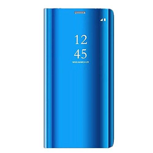 Neivi Funda Huawei P20, Carcasa Huawei P20 Lite Espejo Funda Mirror Flip Case Ultra Delgada Leather PC Hard Anti-Scratch Protector Cover Caso Cáscara Case para Huawei P20 Pro