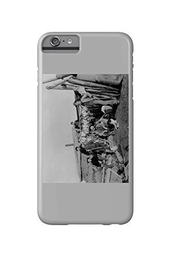 klondike-men-after-hunting-ptarmigan-in-nome-photograph-iphone-6-plus-cell-phone-case-slim-barely-th