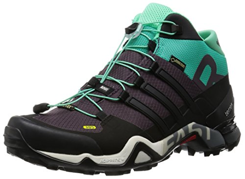 Terrex Fast R Mid GTX W's Schuhe core black-shock mint UK5 Rot