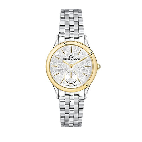 PHILIP WATCH Womens Analogue Quartz Watch with Stainless Steel Strap R8253596504