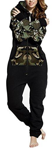 SKYLINEWEARS Women's Ladies Onesie Fashion Printed Playsuit Jumpsuit
