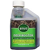 Envii Deep Rooter – Tratamiento y Estimulador de Raíces Mejora el Crecimiento Altura y Grosor de Las Raíces de Las Plantas (250ml Concentrado)