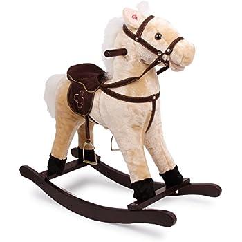 Cavallo A Dondolo Foppapedretti.Roba Cavallo A Dondolo In Legno Con Imbottitura In Stoffa