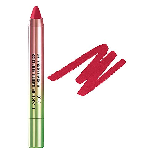 Lakme 9 to 5 Naturale Matte Sticks Lipstick, Rose Ville, 2.2g