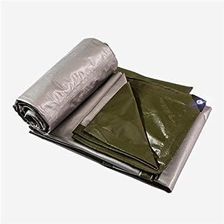 Wasserdichte verdicken Außenfarbton PE-Planen-Stärke 0.38mm verschiedene Größen (Länge + Breite) (Farbe : Armeegrün, größe : 2M*2M)