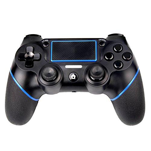 Sades PS4 Controller C200 Wireless Controller Gamepad mit doppelter Vibration und 3,5-mm-Klinke für Playstation 4 (Sony 3-lautsprecher-stereo-system)