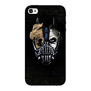 Cute Mutation Multicolor Back Case Cover for iPhone 4 4s
