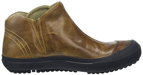 FLY London Damen Milt246fly Kurzschaft Stiefel Brown (Camel/Camel)