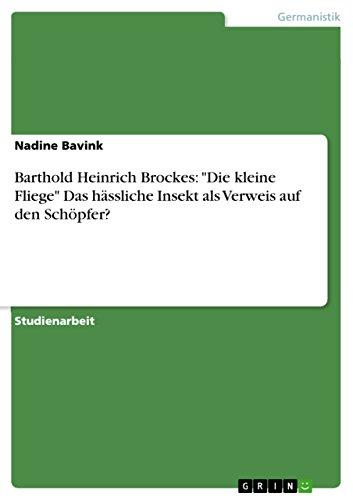 Barthold Heinrich Brockes: