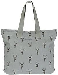 Sophie Allport Everyday bolsa–Highland diseño de ciervo