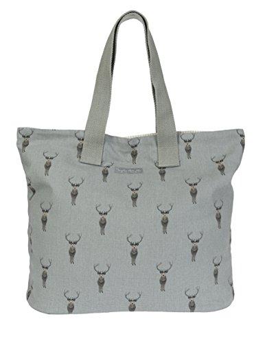 Designer-100% Baumwolle Tote (Sophie Allport Tasche, Hirsch-Motiv)