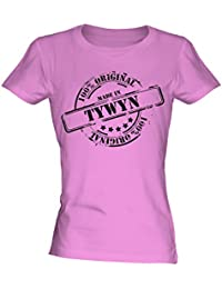 Made In Tywyn - Ladies Fitted T-Shirt T Shirt Tee Top