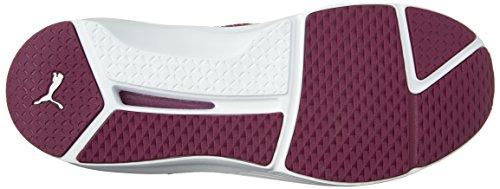 Puma Womens Fierce Quilted Cross-Trainer Shoe Magenta Purple/Puma White