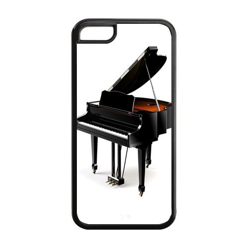Design Piano Best Durable Case Cover Fits and Protects Apple iPhone 5C