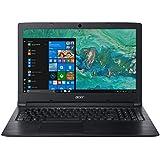 Acer Aspire A315-53 15.6-inch Laptop (Intel Celeron Processor 3867U/4GB/500GB/Windows 10 Home/Integrated Graphics), Obsidian Black