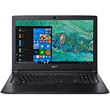 Acer Aspire A315-53 15.6-inch Laptop (Intel Celeron Processor 3867U/4GB/500GB/Windows 10 Home/Integrated Graphics), Obsidian Black