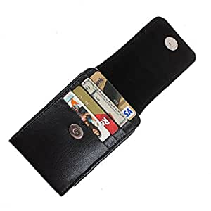 DooDa PU Leather Pouch Case Cover With Magnetic Closure For Videocon A55Q HD