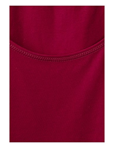 Cecil, Canottiera Donna Rot (Cranberry Red 11088)